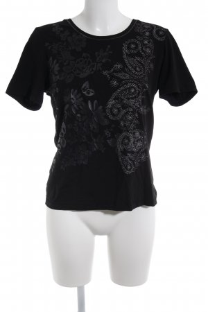Public T-Shirt schwarz Casual-Look