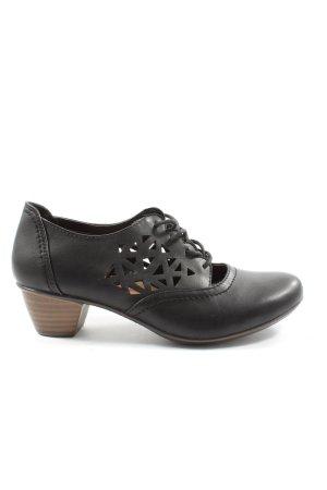 Puccetti Sznurowane buty czarny W stylu biznesowym