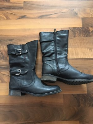 Winter Boots black-anthracite