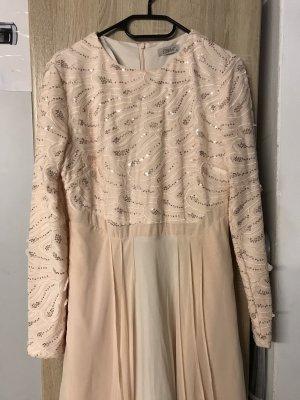 Sequin Dress cream-pink