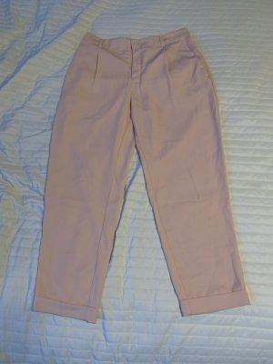 Puderrosane leichte Hose