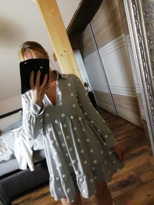 Zara Sukienka koszulowa jasnoszary