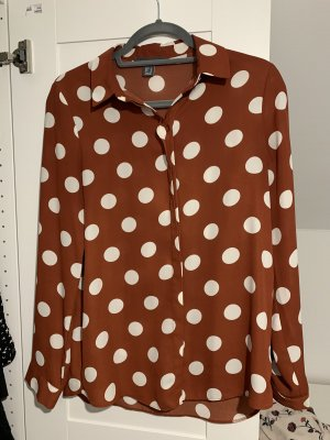 Primark Blouse Collar brown-oatmeal