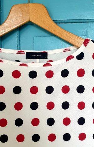 Vero Moda Boatneck Shirt multicolored mixture fibre