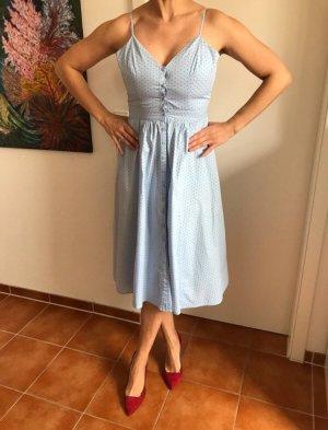 Pünktchen Träger - Kleid