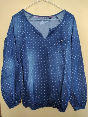 Tom Tailor Denim Denim Blouse blue cotton