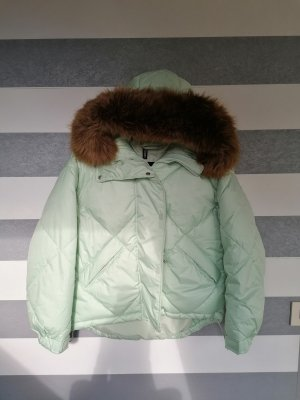 H&M Quilted Jacket turquoise-mint