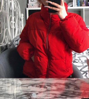 Puffer Jacke mit Stehkragen