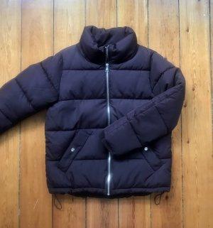 Puffer Jacket in Aubergine