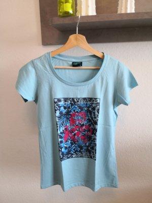 Pukkelpop Festival Fan T-shirt blau pink Damen M