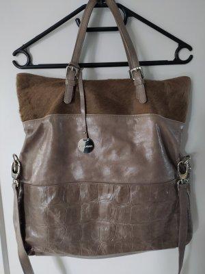 Pulicati Carry Bag grey brown