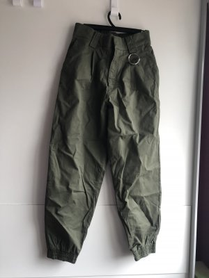 Pull & Bear Pantalon cargo taupe
