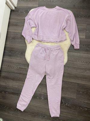 Pull & Bear Twin Set tipo suéter púrpura