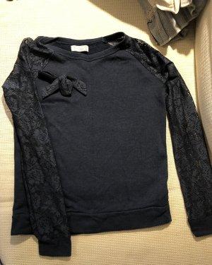 Pull & Bear Sweatshirt bleu foncé