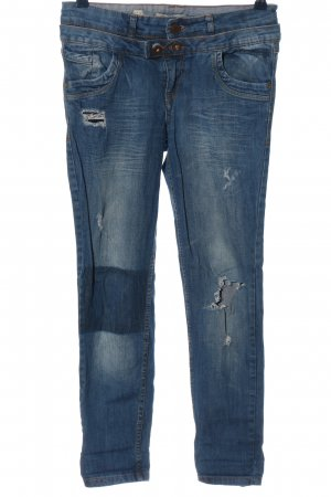 Pull & Bear 3/4 Length Jeans blue casual look