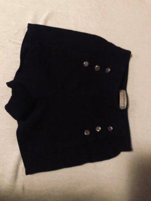Pull & Bear Krótkie szorty czarny
