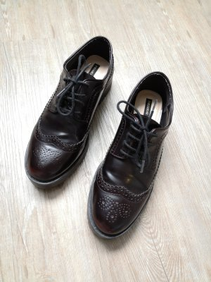 Pull & Bear Wingtip Shoes multicolored