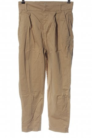 Pull & Bear 7/8 Length Trousers brown casual look