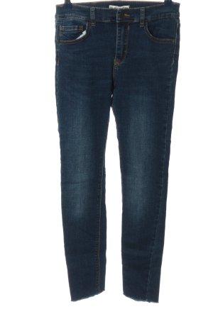 Pull & Bear 7/8 Jeans blau Casual-Look