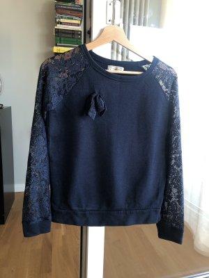 Pull & Bear Bluza dresowa ciemnoniebieski-stalowy niebieski