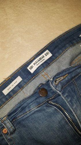 Pull & Bear Vaquero hipster azul oscuro