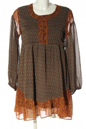 Pull & Bear Babydoll Dress multicolored polyester