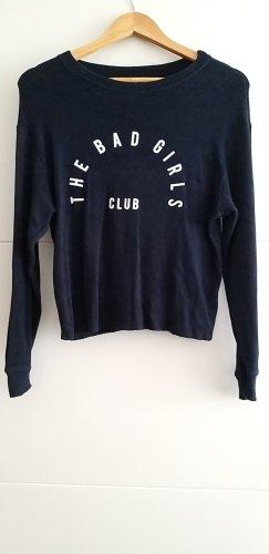 Pull&Bear Bad Girls Club marineblau M 38