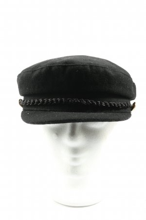 Pull & Bear Cappello da panettiere nero stile casual