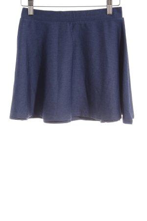 Pull & Bear Ballonrock dunkelblau Casual-Look