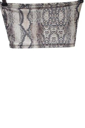 Pull & Bear Haut bandeau motif animal style décontracté