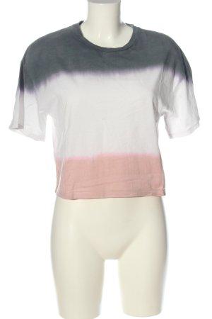 Pull & Bear Basic-Shirt Farbverlauf Casual-Look