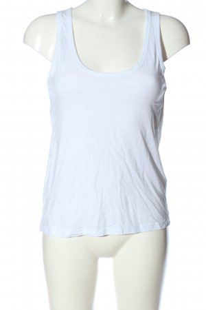 Pull & Bear Basic topje wit casual uitstraling