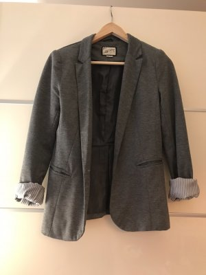 Pull & Bear Jersey Blazer grey