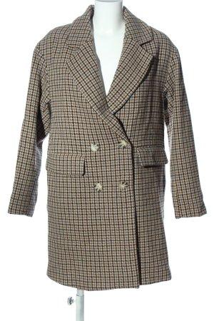 Pull & Bear Cappotto lungo fino a terra motivo a quadri stile professionale