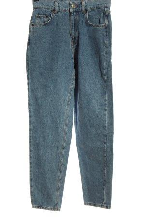 Pull & Bear Boyfriend Jeans blue casual look