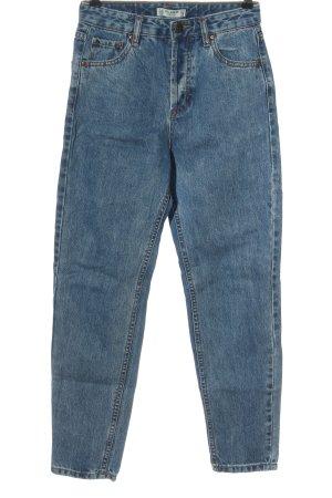 Pull & Bear Jeans boyfriend blu stile casual