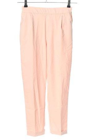 Pull & Bear Pantalon à pinces rose style décontracté