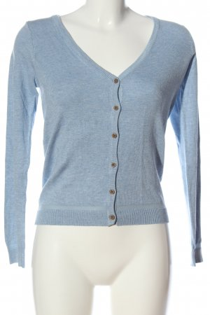 Pull & Bear Cardigan blue flecked casual look