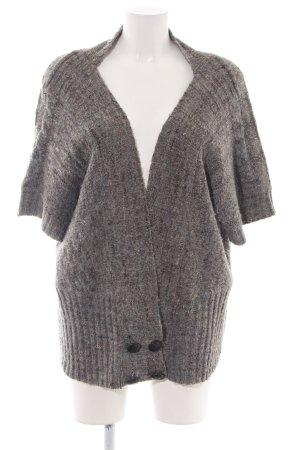 Pull & Bear Cardigan hellgrau-nude meliert Casual-Look