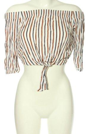Pull & Bear Carmen Shirt striped pattern casual look