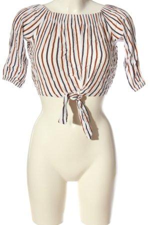 Pull & Bear Carmen shirt volledige print casual uitstraling