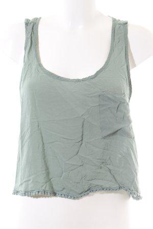 Pull & Bear Cropped Top khaki Casual-Look