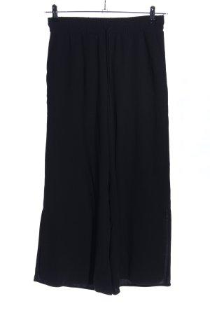 Pull & Bear Pantalone culotte nero stile casual