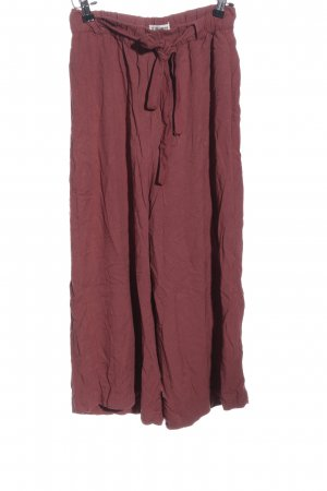 Pull & Bear Culottes rot Casual-Look
