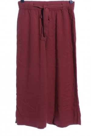 Pull & Bear Culottes pink Casual-Look
