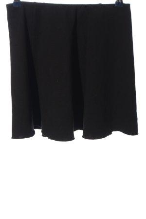 Pull & Bear Glockenrock schwarz Casual-Look