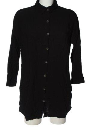 Pull & Bear Camicia blusa nero stile casual