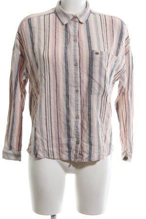 Pull & Bear Hemd-Bluse Streifenmuster Casual-Look
