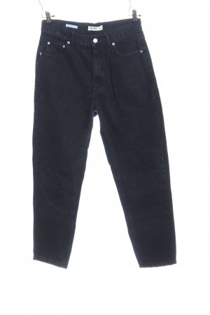 Pull & Bear High-Waist Hose blau Casual-Look