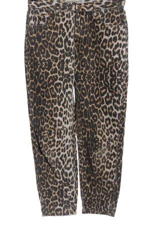 Pull & Bear High Waist Jeans Animalmuster Casual-Look